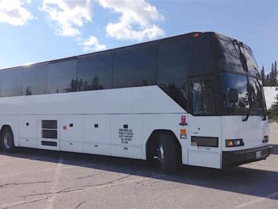 56 passenger bus rental